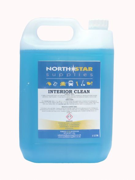 Interior Clean - Fabric & Upholstery Cleaner - North Star Supplies